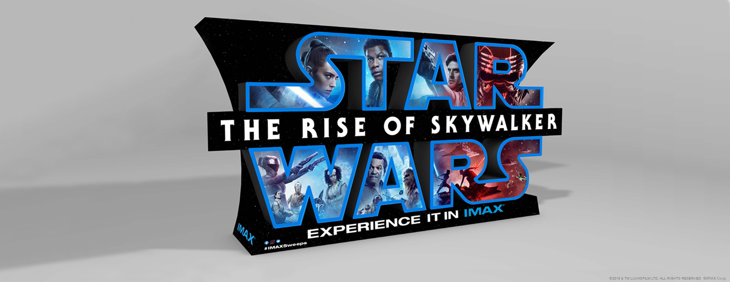 Star Wars IMAX Standee