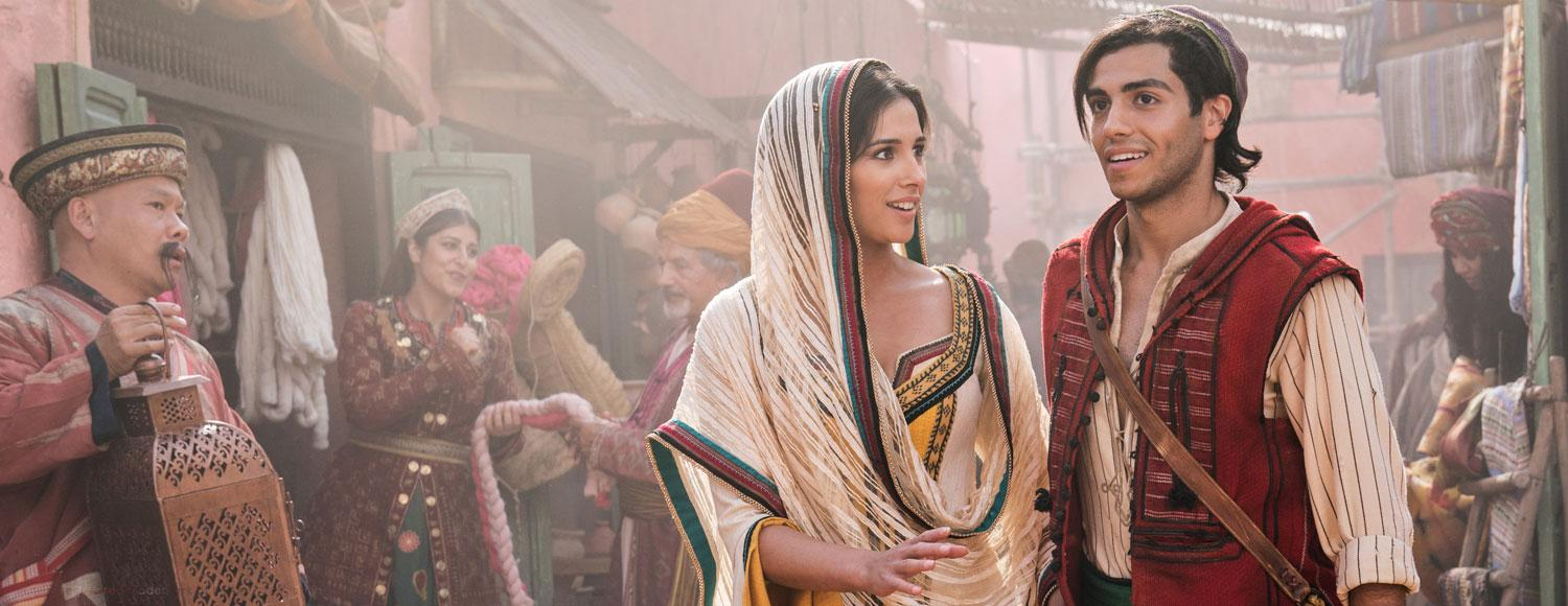 Mena Massoud & Naomi Scott, Disney's Aladdin