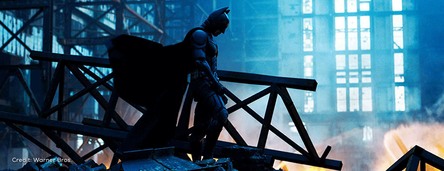 The Dark Knight in IMAX 70MM