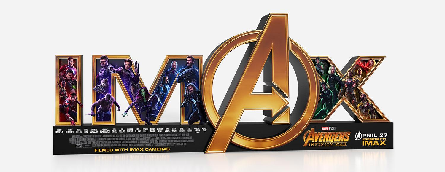 IMAX Avengers In-theatre Display