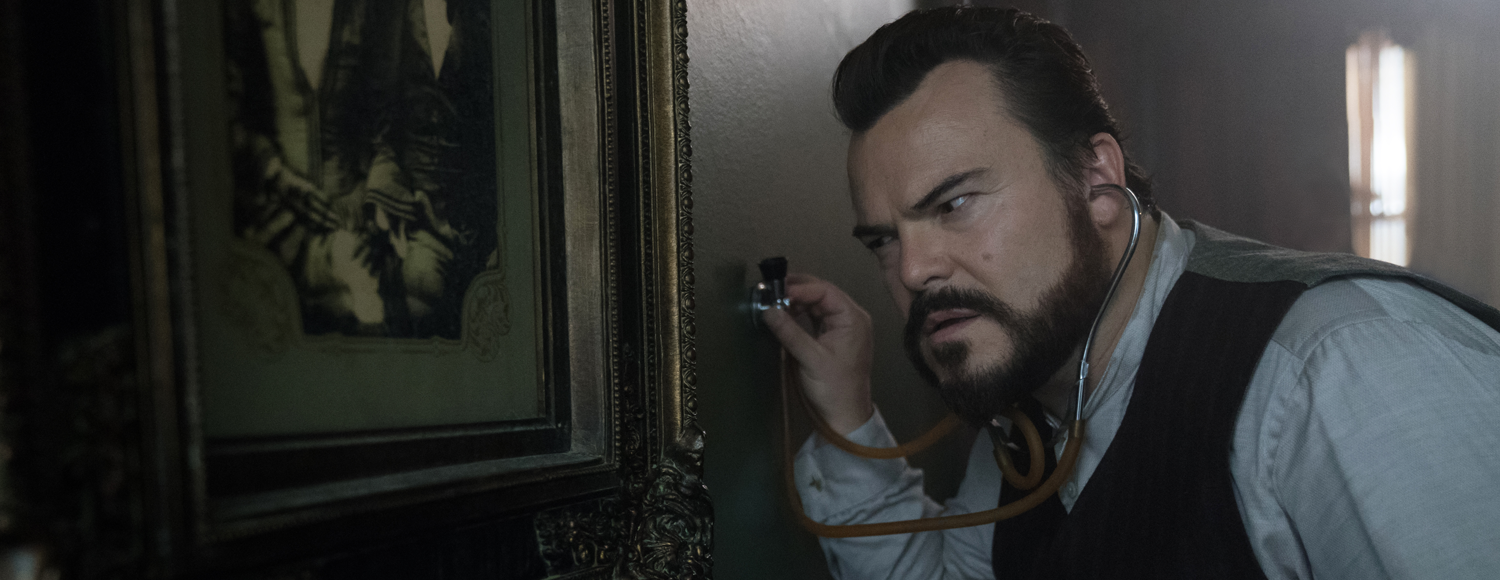 Jack Black The House with a Clock in Its Walls