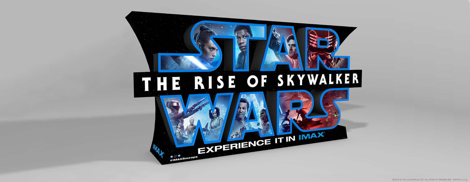 IMAX Star Wars: The Rise of Skywalker Standee