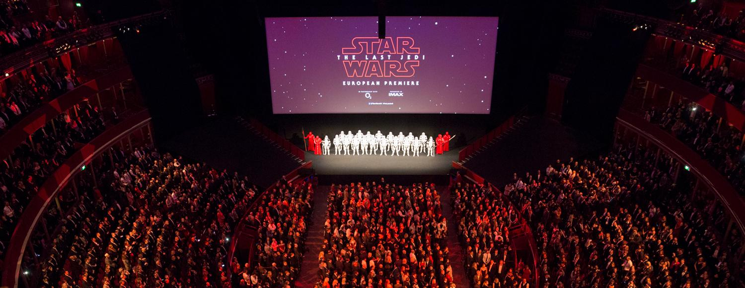 IMAX on the Red Carpet Star Wars The Last Jedi Premiere
