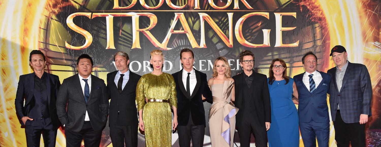 Doctor Strange world premiere