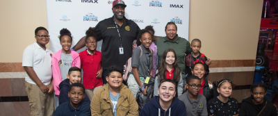 Boys and Girls Club of America IMAX Black Panther Regal Cinemas Screening