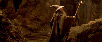 Sir Ian McKellen as Gandalf | The Lord of the Rings The Fellowship of the Rings - Warner Bros. Pictures